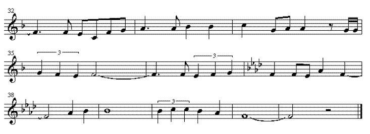 钢琴谱图片