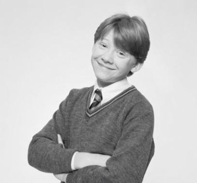 罗恩小时候太可爱