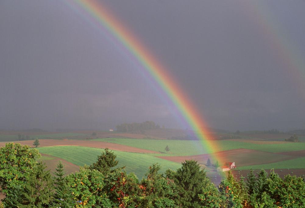 xr彩虹边框壁纸