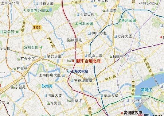 上海靓车会地图