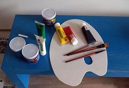 丙烯墙绘步骤视频