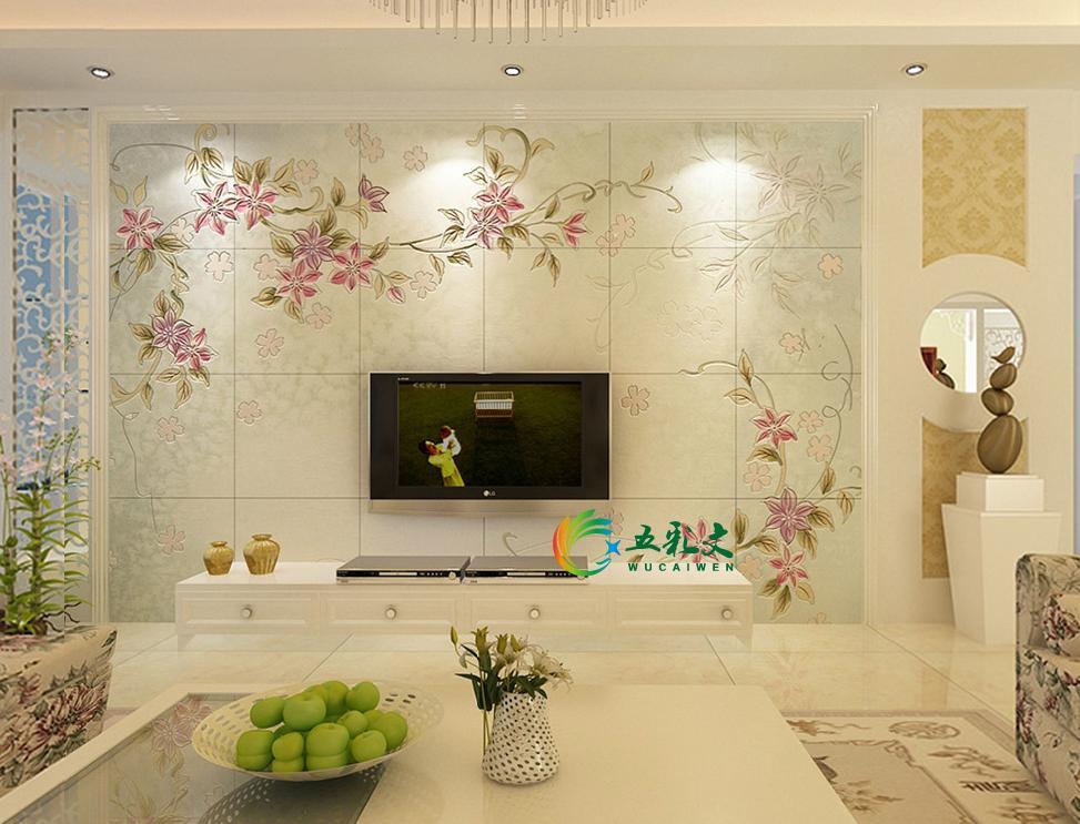 明星欧式家装电视背景墙