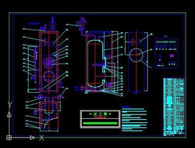 电蒸汽锅炉平面设计图