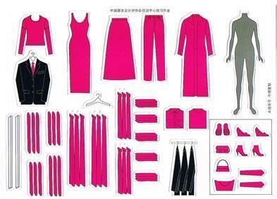 产品名称:中国服装设计师协会培训中心陈列模拟操作道具; 叠装陈列;