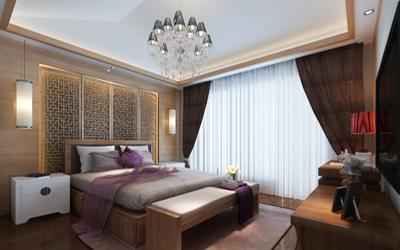 背景墙 房间 家居 起居室 设计 卧室 卧室装修 现代 装修 400_250图片