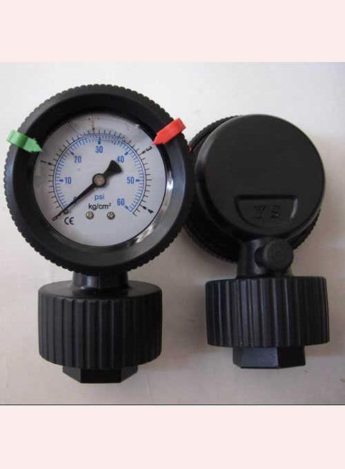 全塑隔膜压力表   强腐全塑隔膜压力表应用   产品说明: