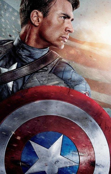 《美国队长》 海报