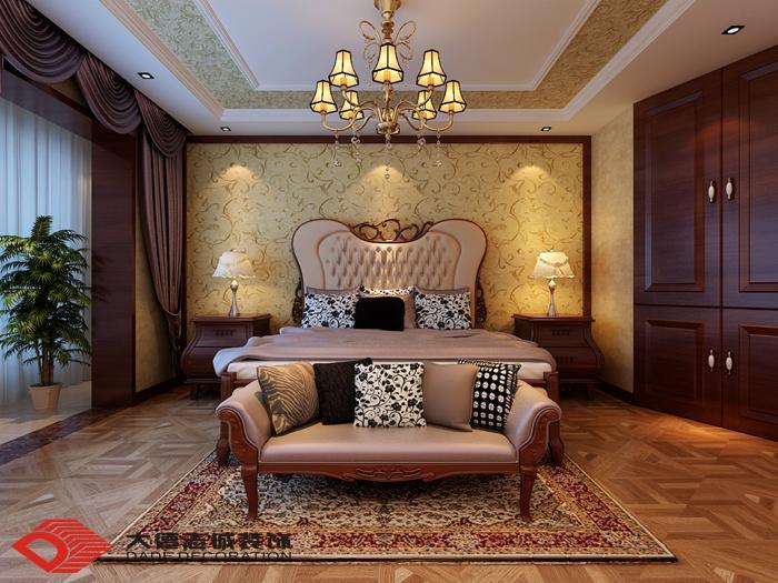海景台北湾欧式风格—主卧室