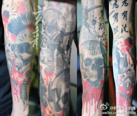 杭州纹身店图片