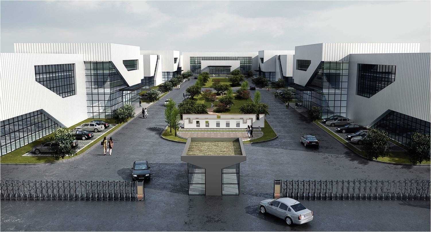 平谦国际(无锡)现代产业园位于江苏省无锡锡山经济开发区内,园区占地图片