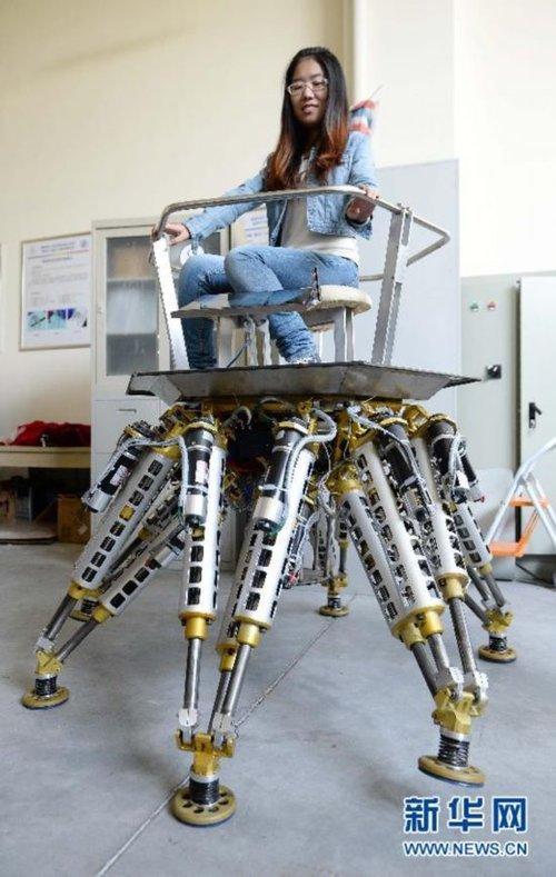 六爪章鱼机器人 搜狗百科