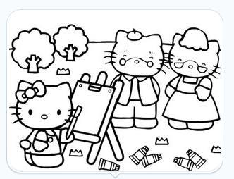 kitty猫上色 - 搜狗百科图片