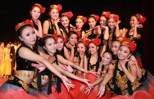 开设有中国古典舞表教合一图片