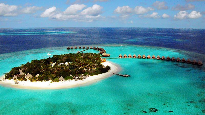 里岛地?_马尔代夫蓝色美人蕉岛
