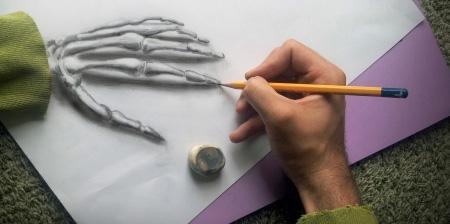 纸笔的折法步骤图解