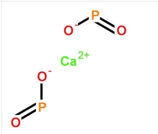 次磷酸钙分子式结构图