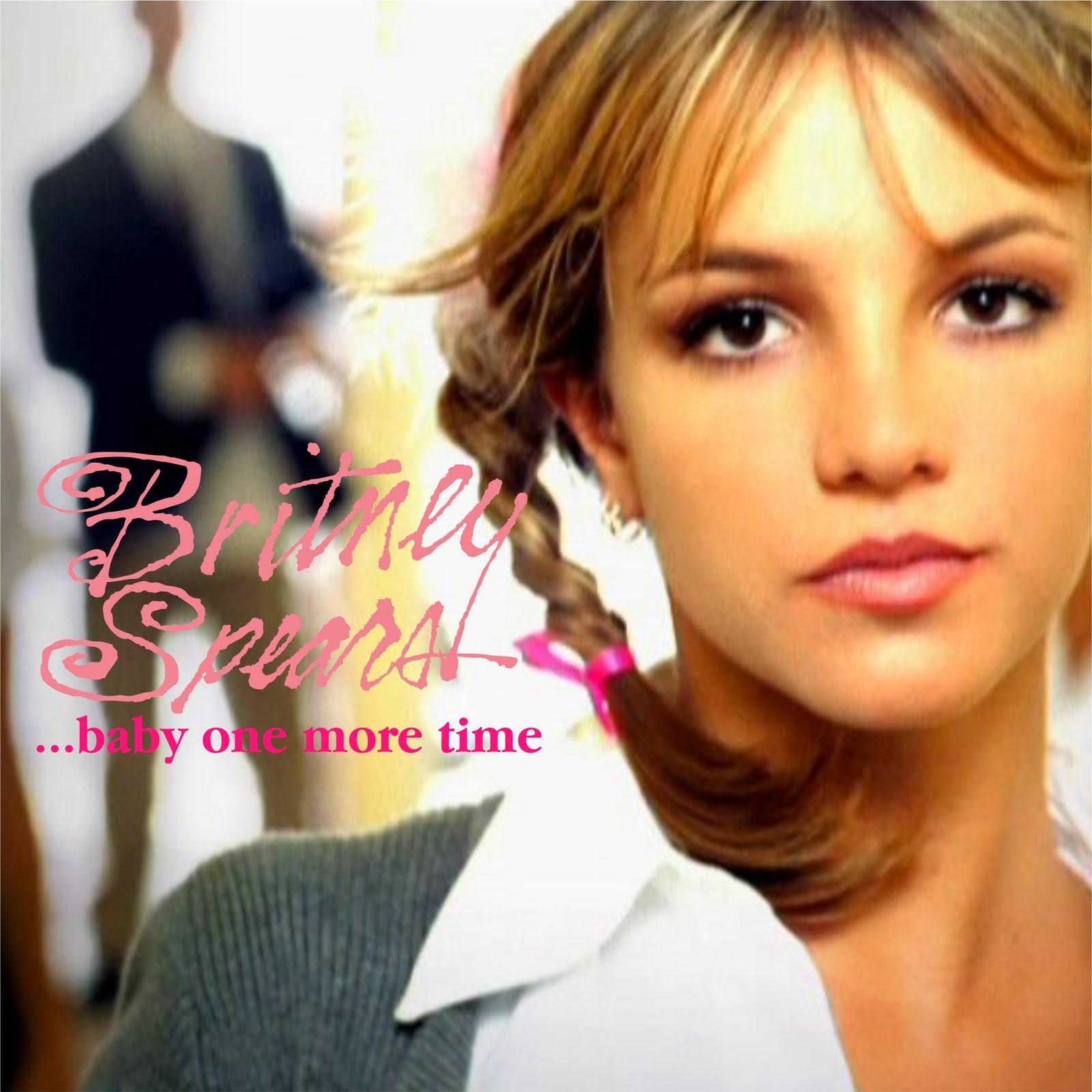 baby one more timeBritney Spears Baby One More Time Album Cover