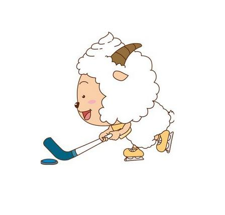 老羊卡通图片