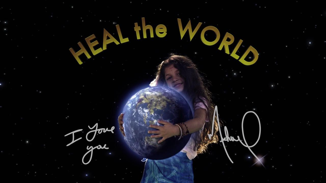 heal the world谱子