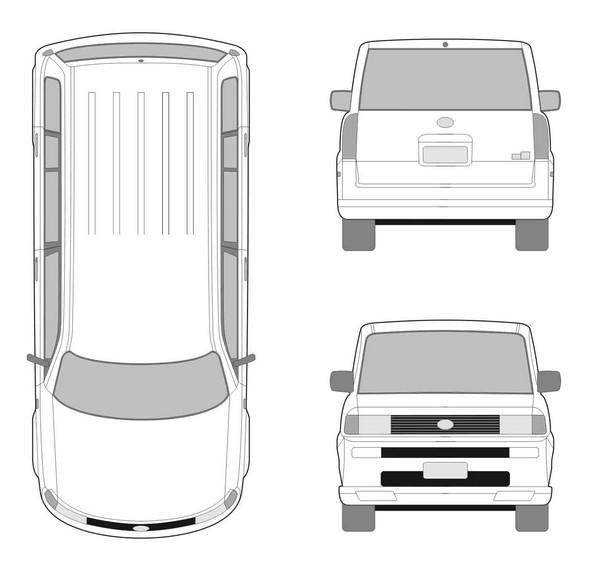 汽车的三视图