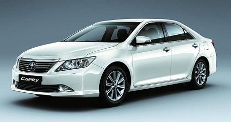 凯美瑞整合了丰田全球最新的
