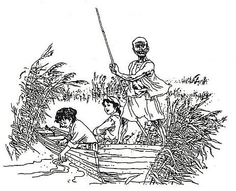 儿童抗战战士简笔画