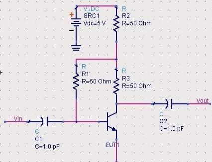三极管放大电路结构图
