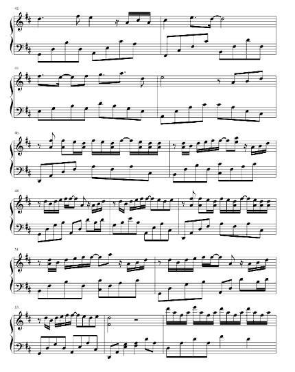 首简单的小情歌 我想我很适合 当一个歌颂者 青春在风中飘着 [2] 你知