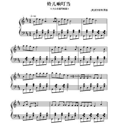 圣诞歌曲乐谱图片