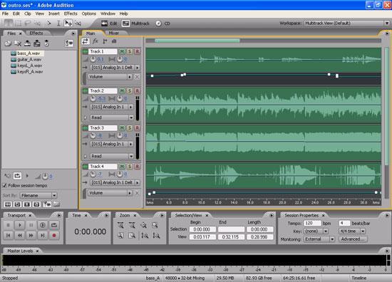【后期】adobe audition 后期噪音的处理方法-降噪