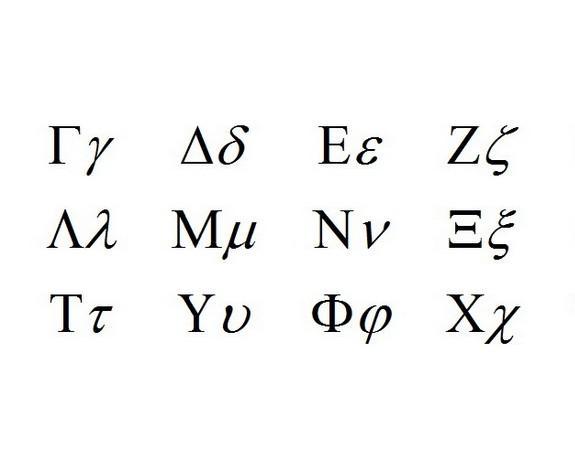 希腊字母的符号含义-ζ图片