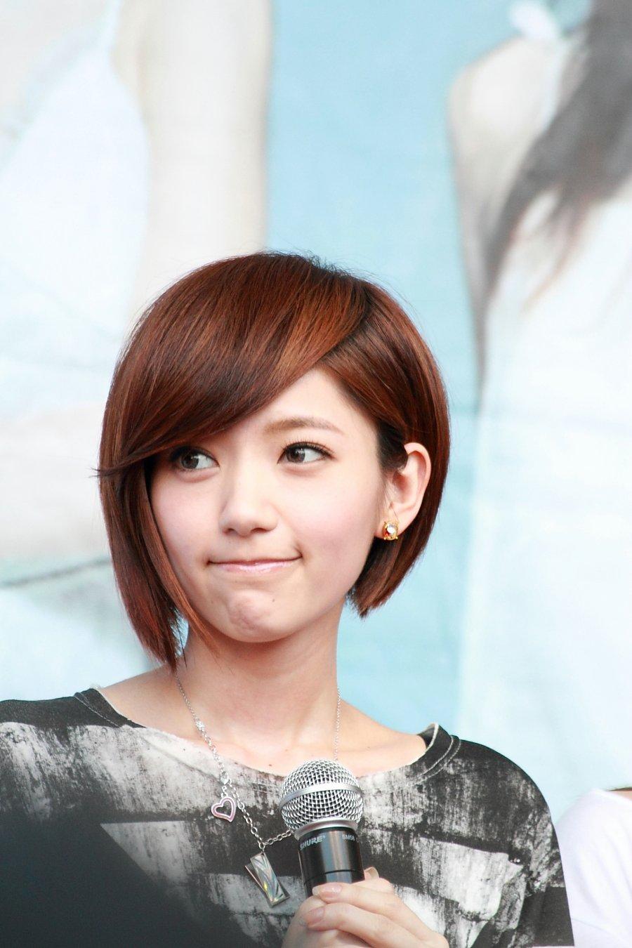 郭雪芙 饰黎儿 外表纯真可爱,萌到不行的少女 .