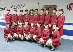 中国国际航空股份有限公司空乘人员图片