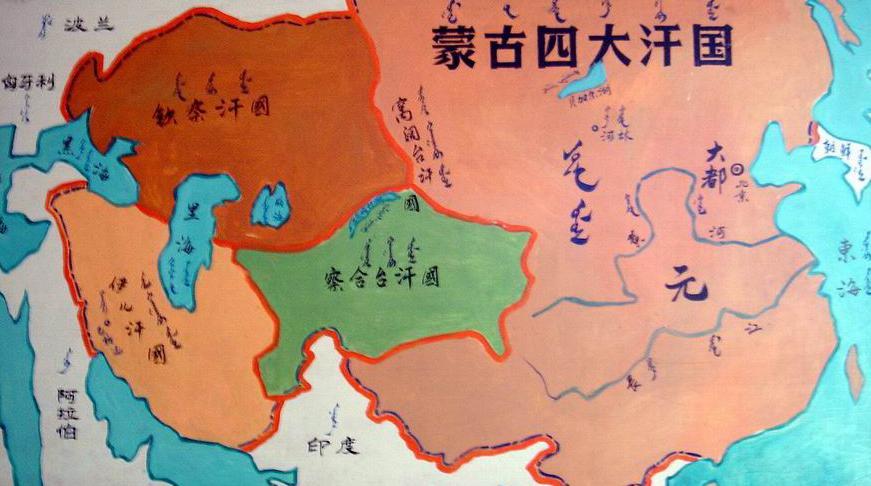 蒙古岩黄耆 手绘