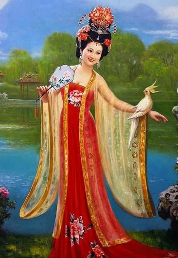 抱琵琶的美女仕图