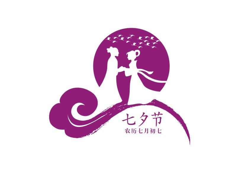 七夕银行展板简笔画