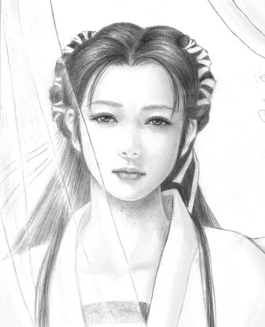 小龙女(金庸武侠小说人物)图片