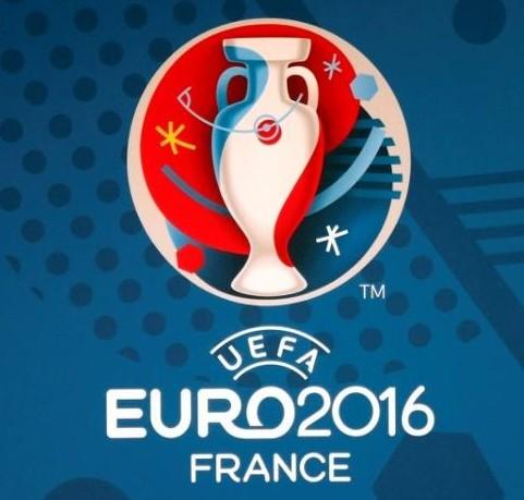 2016年法国欧洲杯标志图片