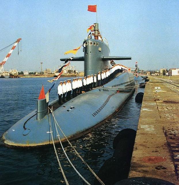 首艘装备锂电潜艇_中国核潜艇