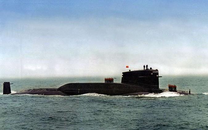 中国核潜艇数量实力_中国核潜艇壁纸 _排行榜大全