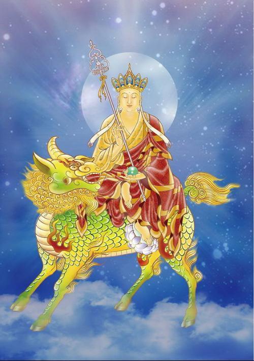 地藏菩萨与坐骑