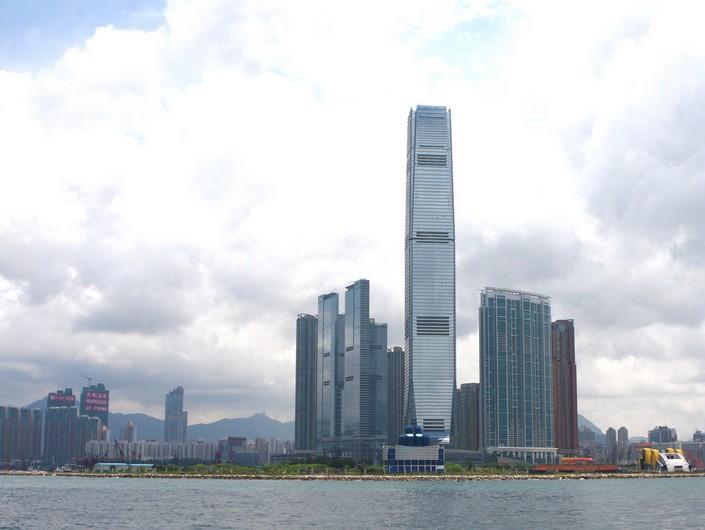 香港建筑物手绘