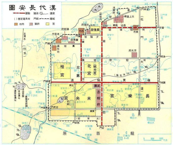 """""""一座城市的历史就是一个民族的历史"""",长安,这座中国历史文化的图片"""