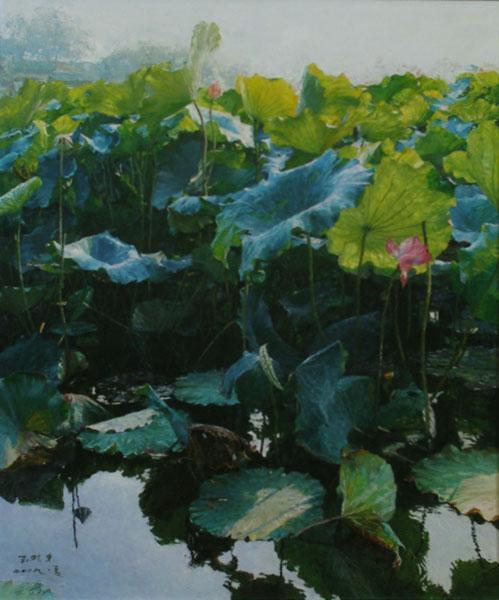 2009年 798艺术区圣邦德艺术中心,举办《唯美依旧》新写实油画作品