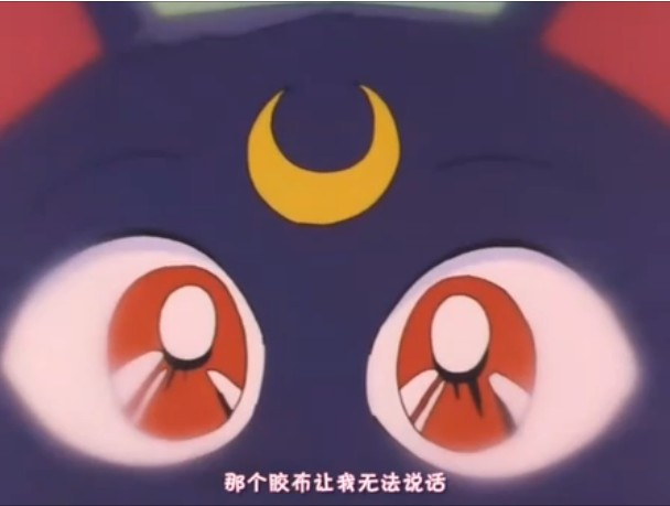 《美少女战士》中黑猫露娜截图