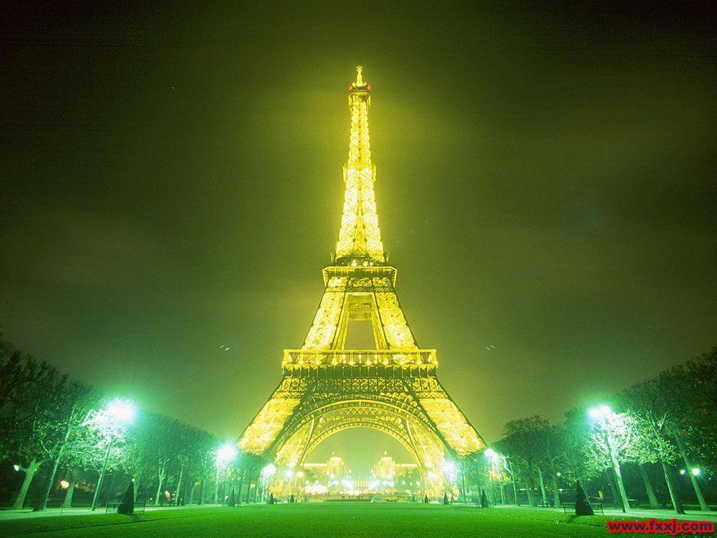 巴黎铁塔简画