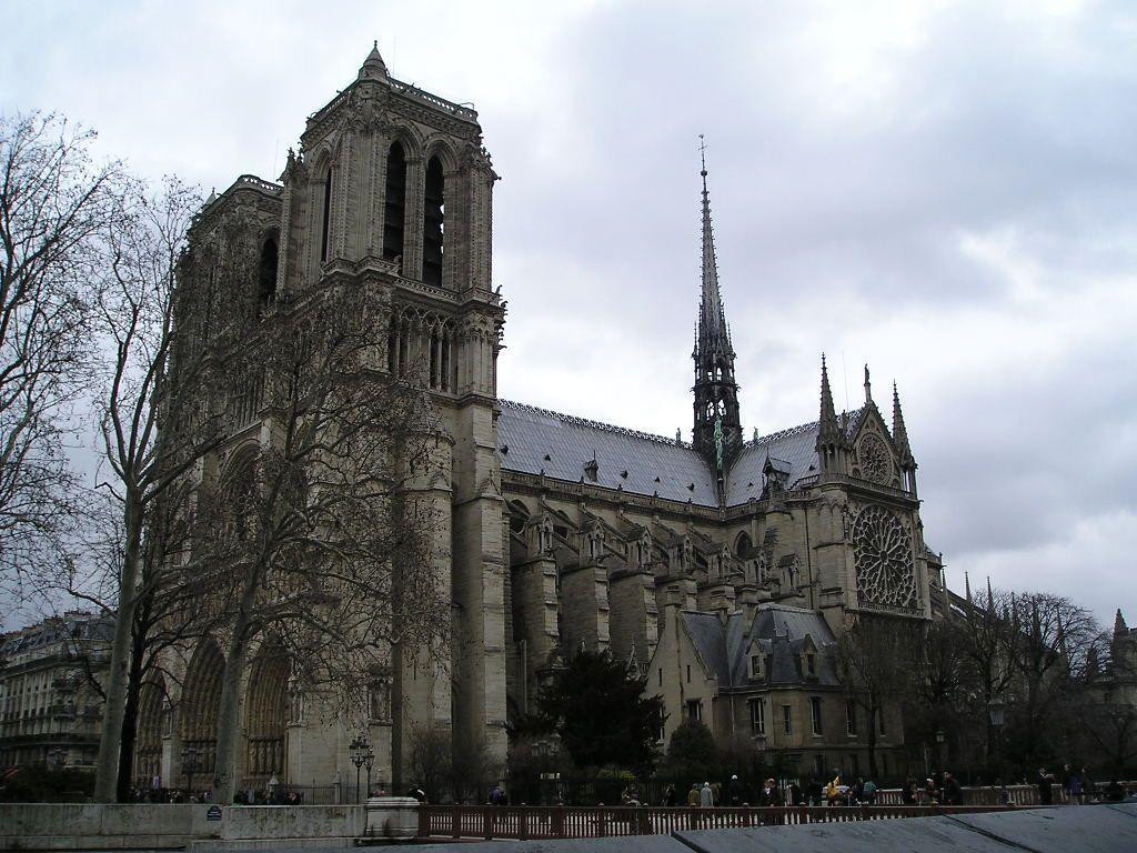 巴黎圣母院(法国巴黎教堂) - 搜狗百科