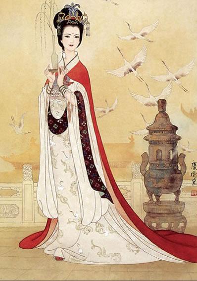 手绘二次元西域公主