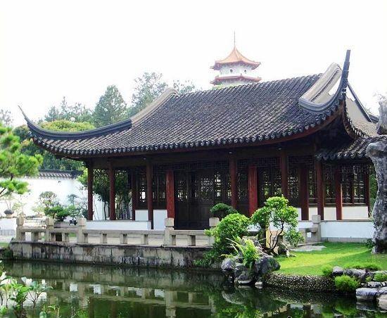 中国古代建筑在平面布局方面有一种简明的组织规律