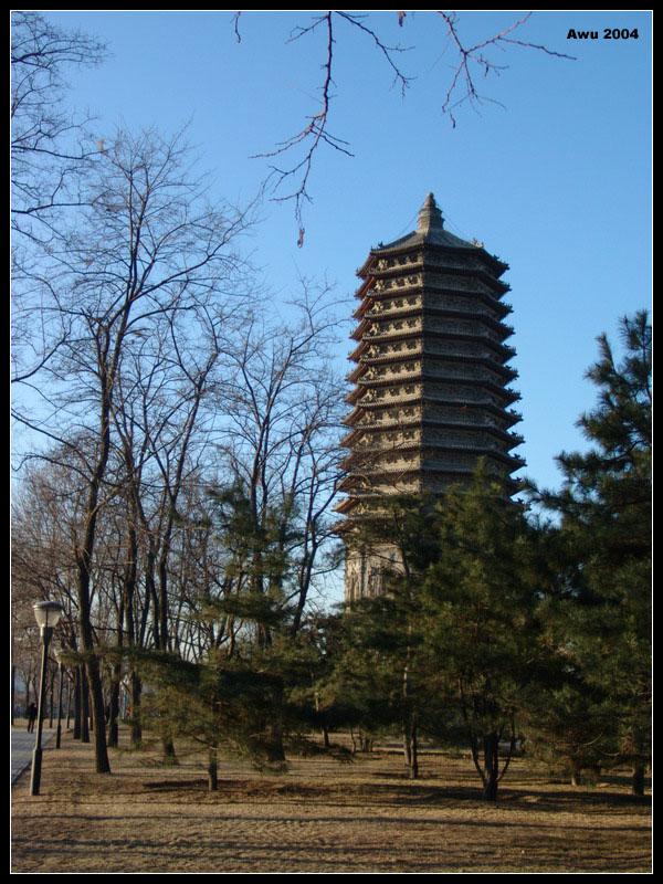 玲珑塔(北京市海淀区玲珑公园明朝建筑)